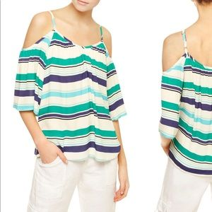 Sanctuary Camilla Striped Cold Shoulder